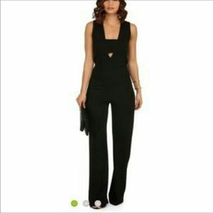 Windsor Cutout Black Jumpsuit Size Medium